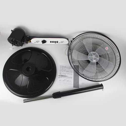 Mechanical Desktop Shaking Head Stand Fan Image 1