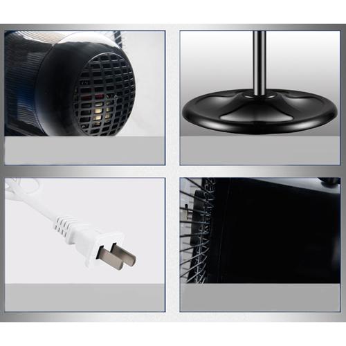Mechanical Desktop Shaking Head Stand Fan Image 3