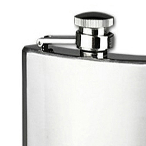 Stainless Steel 10 Oz Hip Flask Image 1