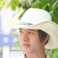 Outdoor Leather Belt Straw Hat Image 5
