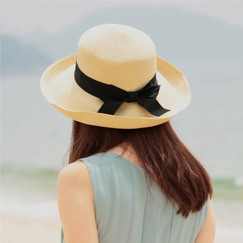 Foldable Women Bowknot Hat