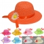Hollow Flower Straw Hats for Childrens