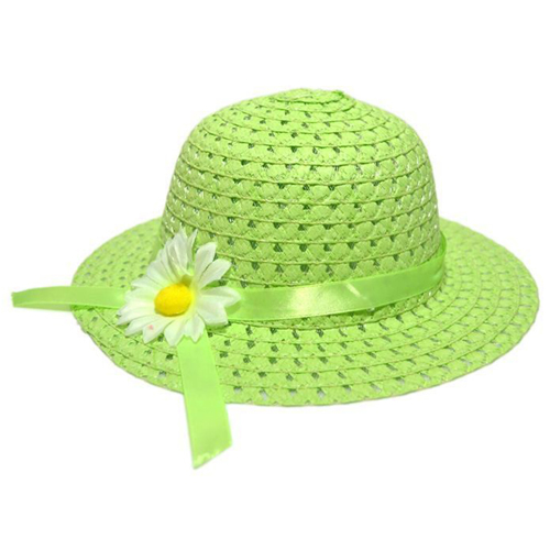 Hollow Flower Straw Hats for Childrens Image 4