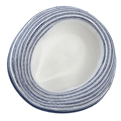Striped Women Straw Hat Image 3
