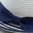 Striped Women Straw Hat Image 4