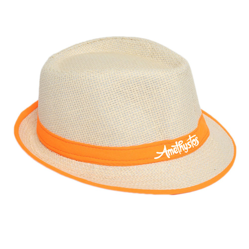 Fluorescent Unisex Beach Straw Hat