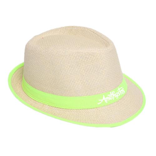 Fluorescent Unisex Beach Straw Hat Image 3
