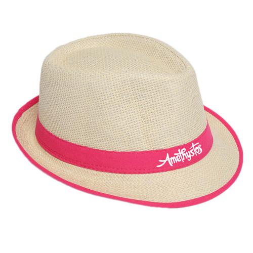 Fluorescent Unisex Beach Straw Hat Image 4