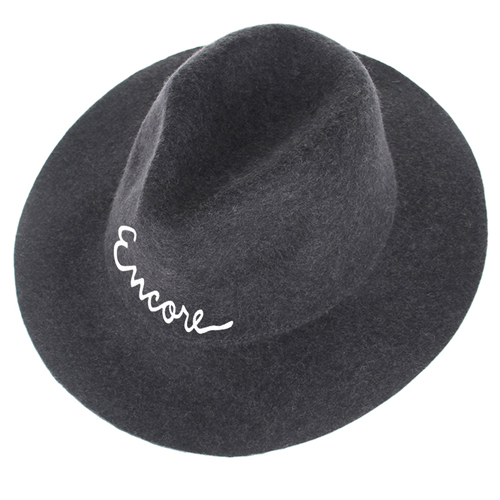 Wide Brim Women Wool Hat Image 1