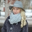 Wide Brim Women Wool Hat Image 3