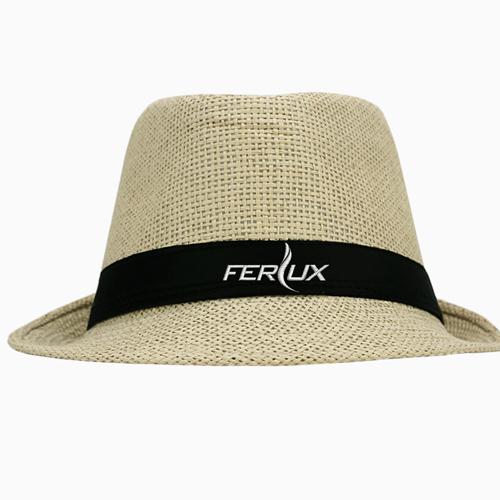 Fashionable Unisex Straw Hat Image 1
