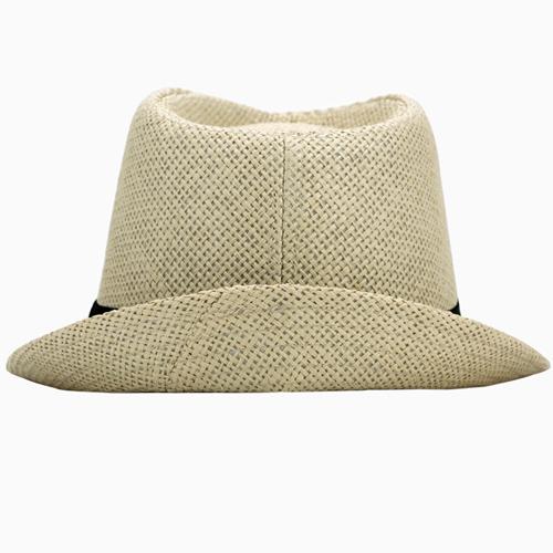 Fashionable Unisex Straw Hat Image 3
