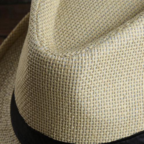 Fashionable Unisex Straw Hat Image 5
