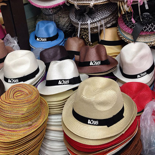 Casual Unisex Outdoor Straw Hat Image 1