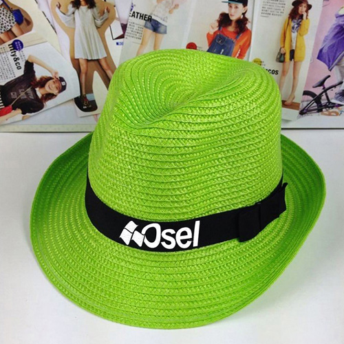 Casual Unisex Outdoor Straw Hat Image 4
