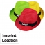 Casual Unisex Outdoor Straw Hat Imprint Image