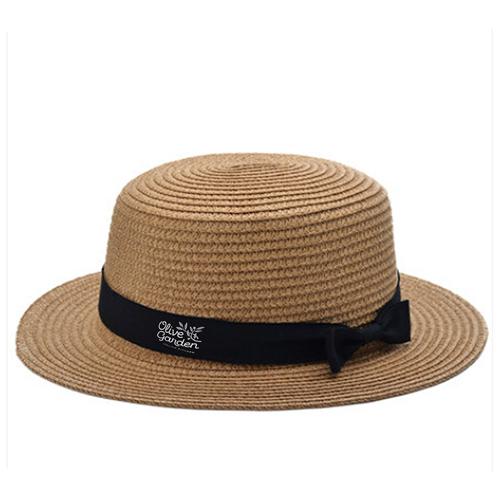 Foldable Womens Straw Hat Image 3