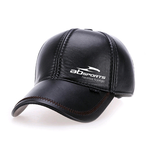 Baseball Winter Leather Cap