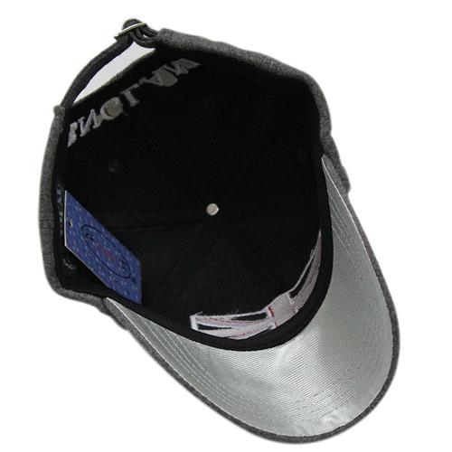 Baseball Snapback Brim Cap Image 5