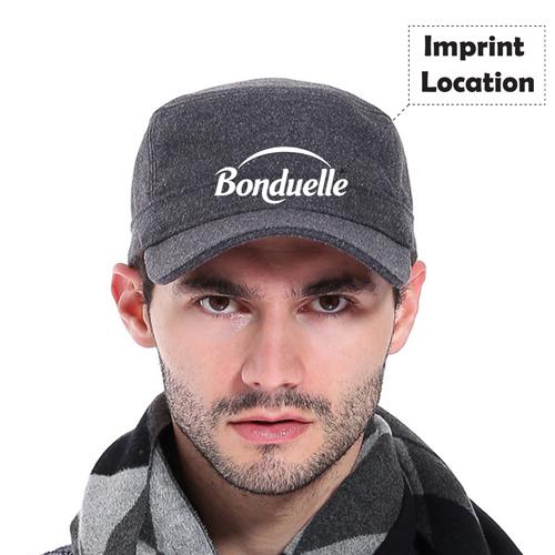 Winter Warm Baseball Cap Imprint Image
