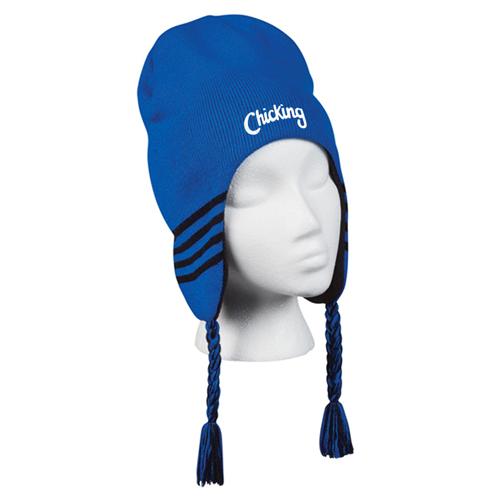 Stretchable Ski Beanie Ear Flaps Image 1
