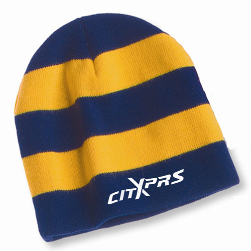 Sportsmen Striped Knitted Beanie