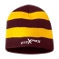 Sportsmen Striped Knitted Beanie Image 5