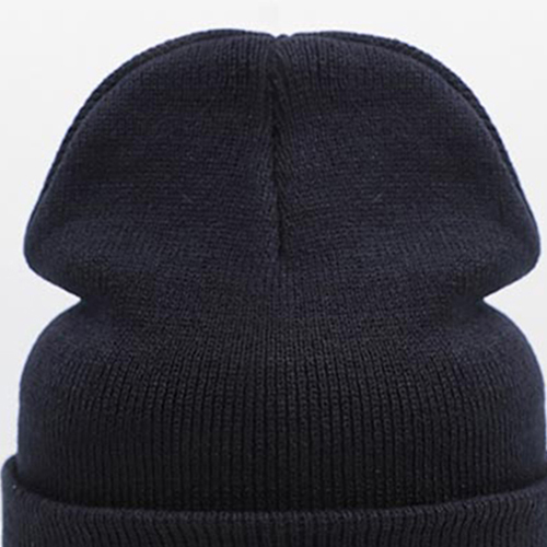 Winter Solid Knitted Beanie Image 1
