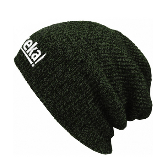 Warm Baggy Knitted Beanie Image 1