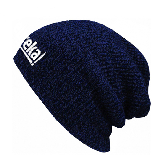 Warm Baggy Knitted Beanie Image 2