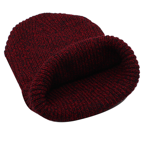 Warm Baggy Knitted Beanie Image 5