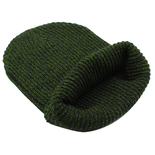 Warm Baggy Knitted Beanie Image 6