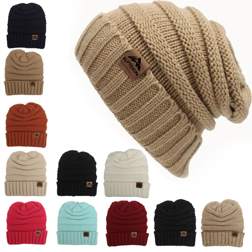 Cable Knitted Winter Beanie
