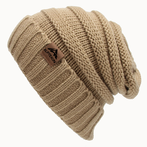 Cable Knitted Winter Beanie Image 2