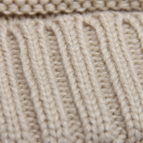 Cable Knitted Winter Beanie Image 6
