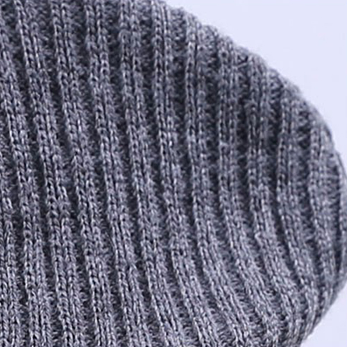 Winter Cuffed Beanie Warm Cap Image 5