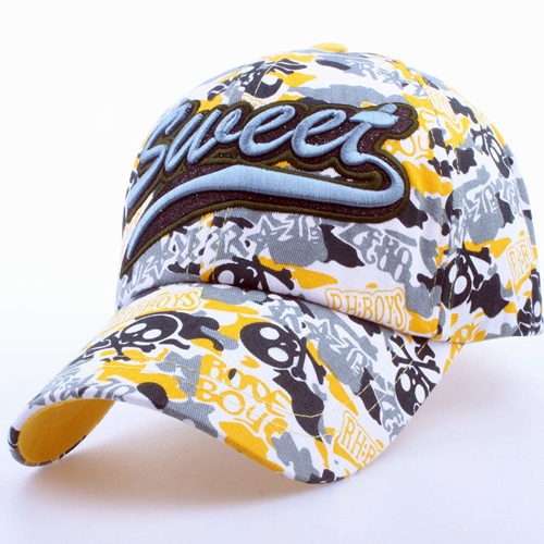 Fashionable Cotton Camouflage Cap Image 2