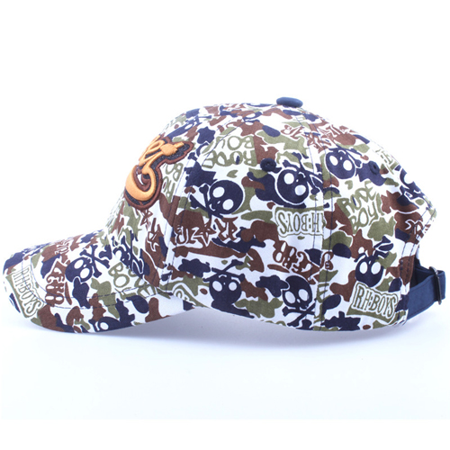 Fashionable Cotton Camouflage Cap Image 3