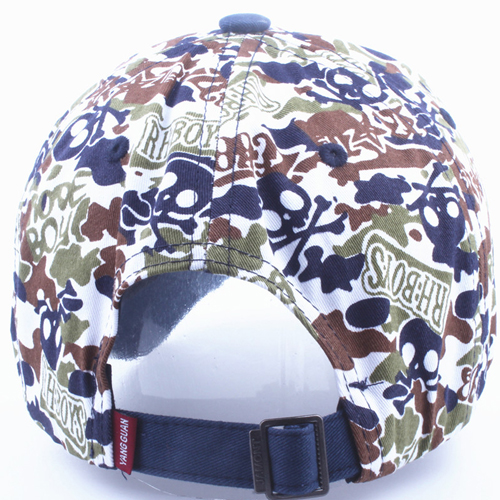 Fashionable Cotton Camouflage Cap Image 4