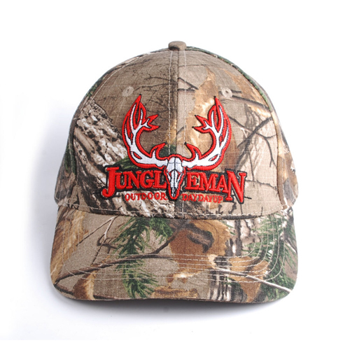 Outdoor Jungle Camouflage Cap Image 1