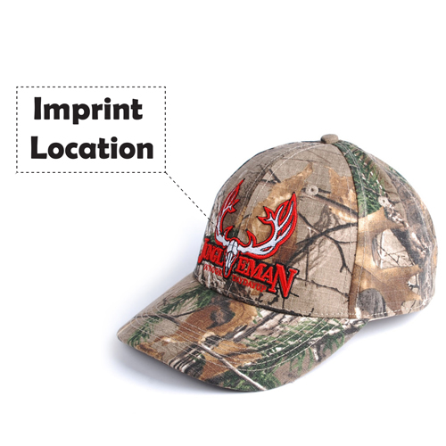Outdoor Jungle Camouflage Cap Imprint Image