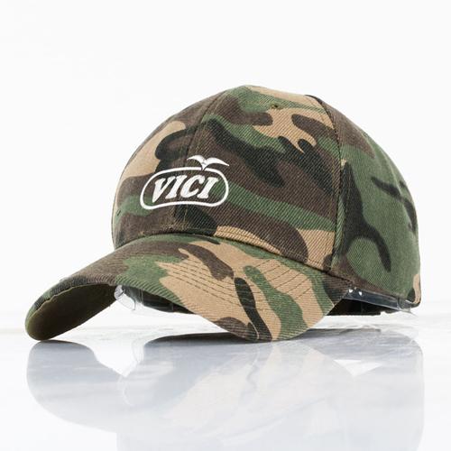Outdoor Unisex Camouflage Cap Image 4