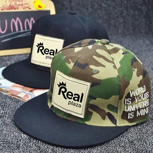 Mens Hip Hop Camouflage Caps Image 1
