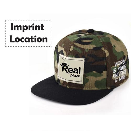 Mens Hip Hop Camouflage Caps Imprint Image