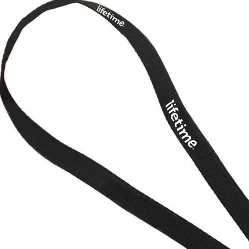 Swivel J Hook Woven Polypropylene Lanyard Image 1