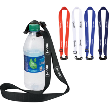 Bottle Strap Polyester Lanyard