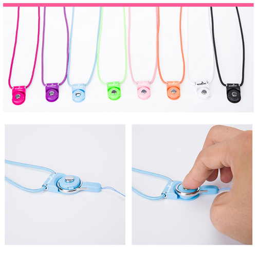 Multifunctional Mobile Phone Cord Neck Strap Image 1