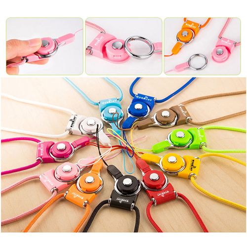Multifunctional Mobile Phone Cord Neck Strap Image 2