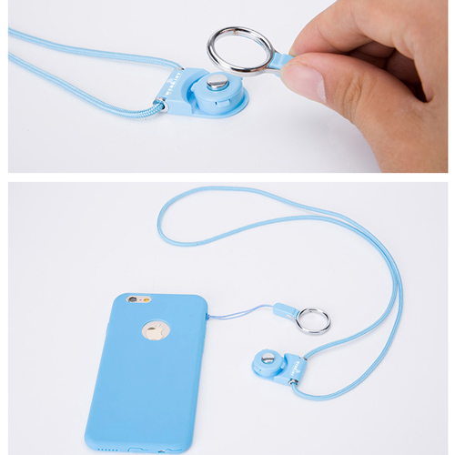 Multifunctional Mobile Phone Cord Neck Strap Image 5