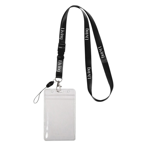 Detachable Buckle Swivel J Hook Lanyard Image 2